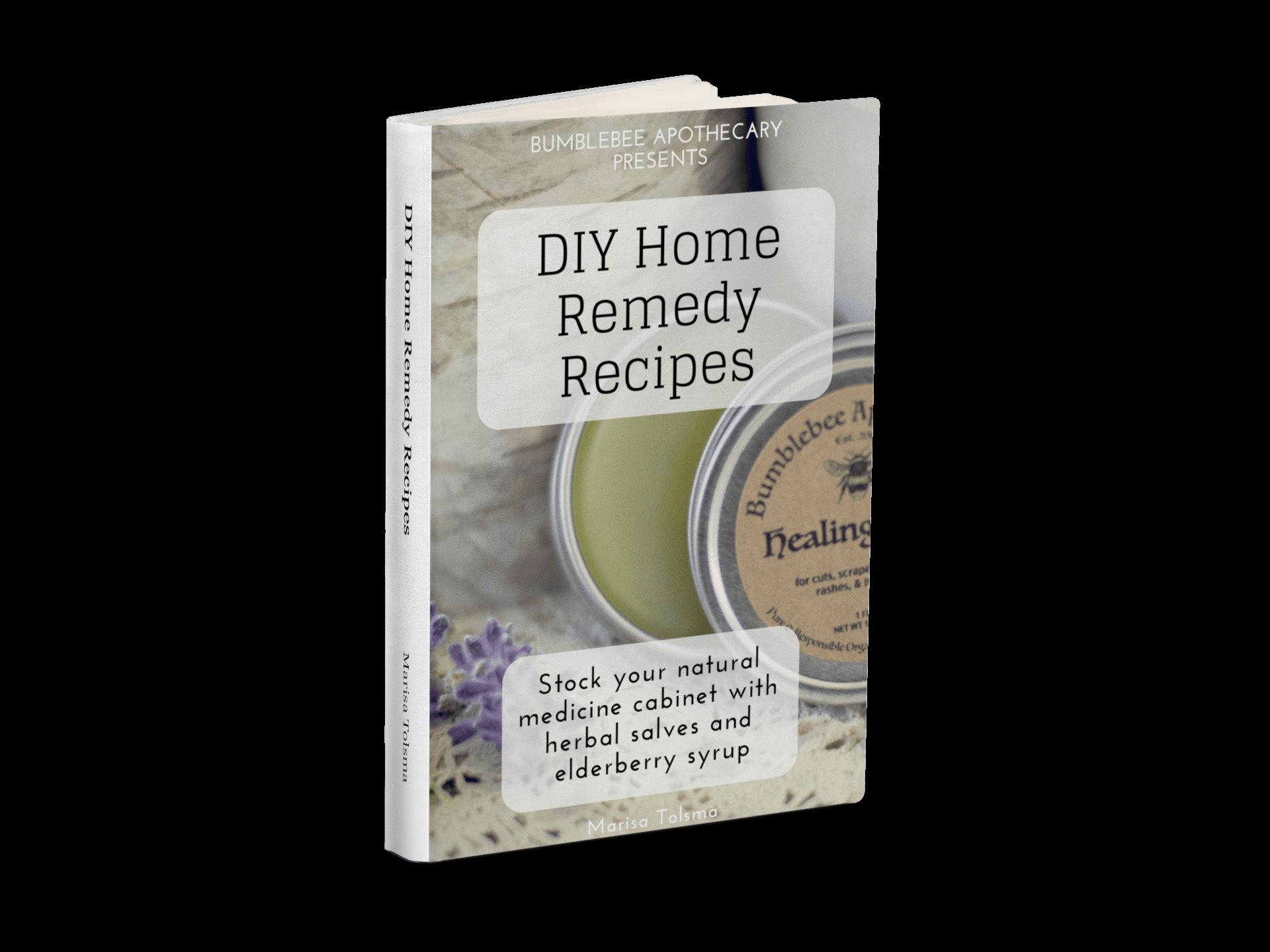 DIY Home Remedy Recipes free eBook