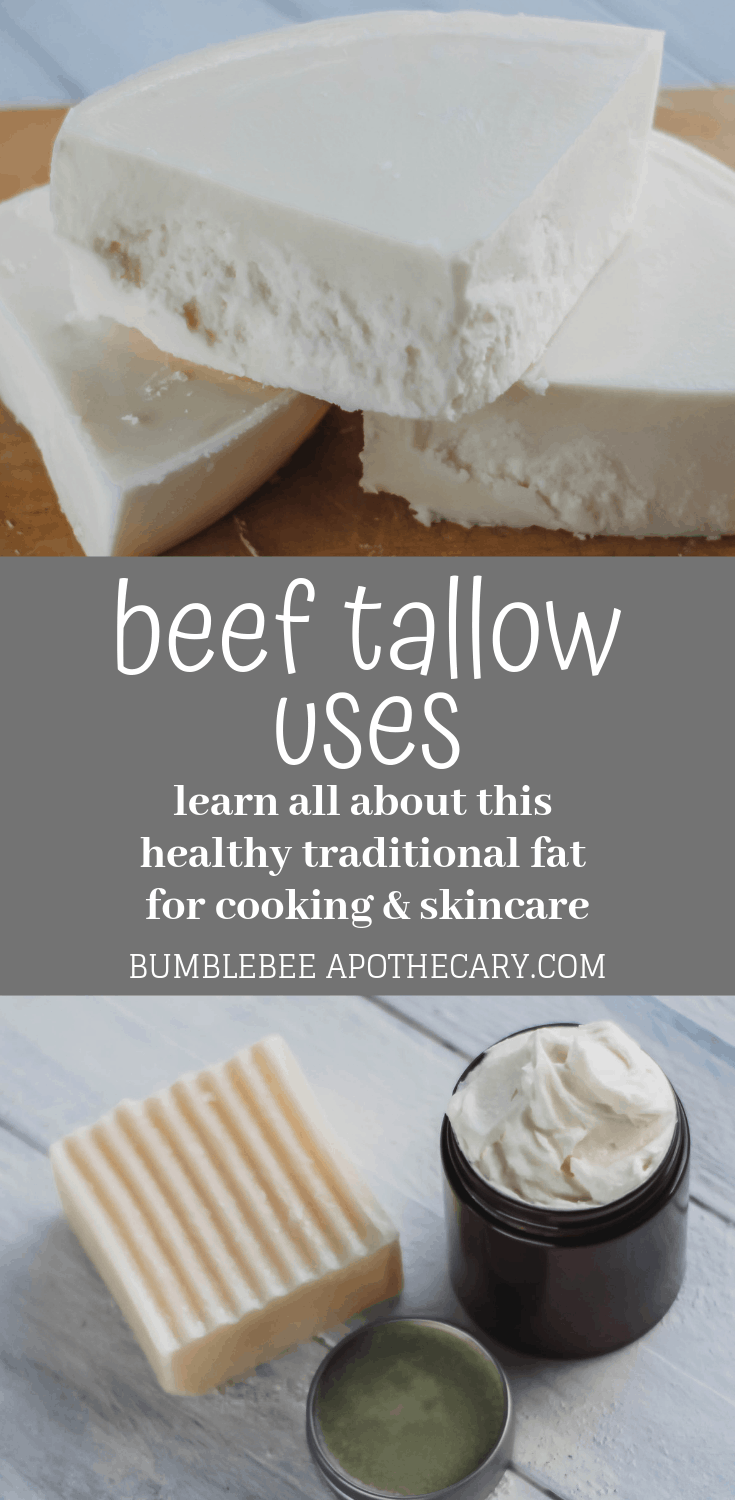 Beef tallow uses for cooking and skincare #tallow #wapf #healthy